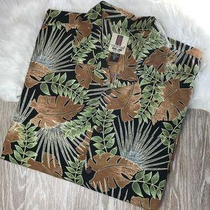 Tori Richard Honolulu Lawn Camp Hawaiian Shirt XL